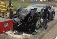 Tesla crash