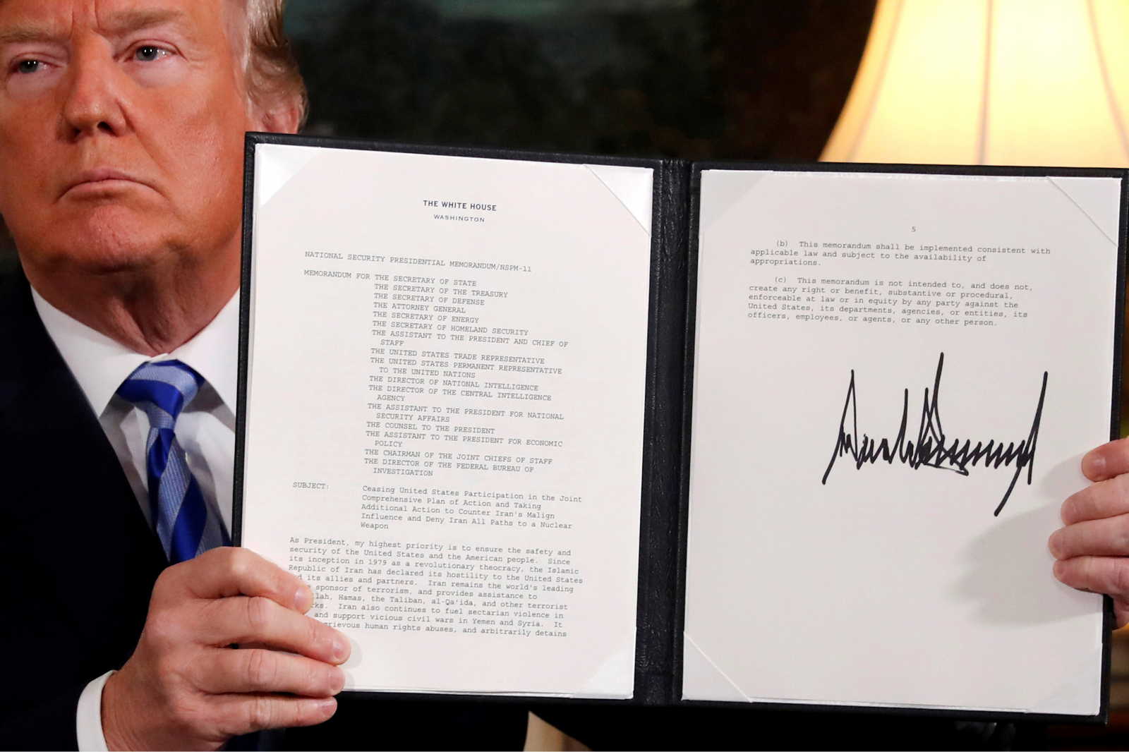 Donald Trump and Iran Deal