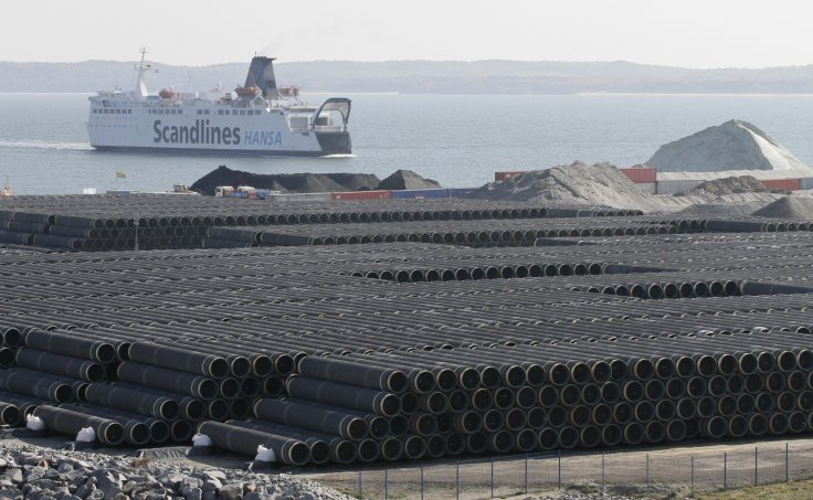 Nord Stream Pipes