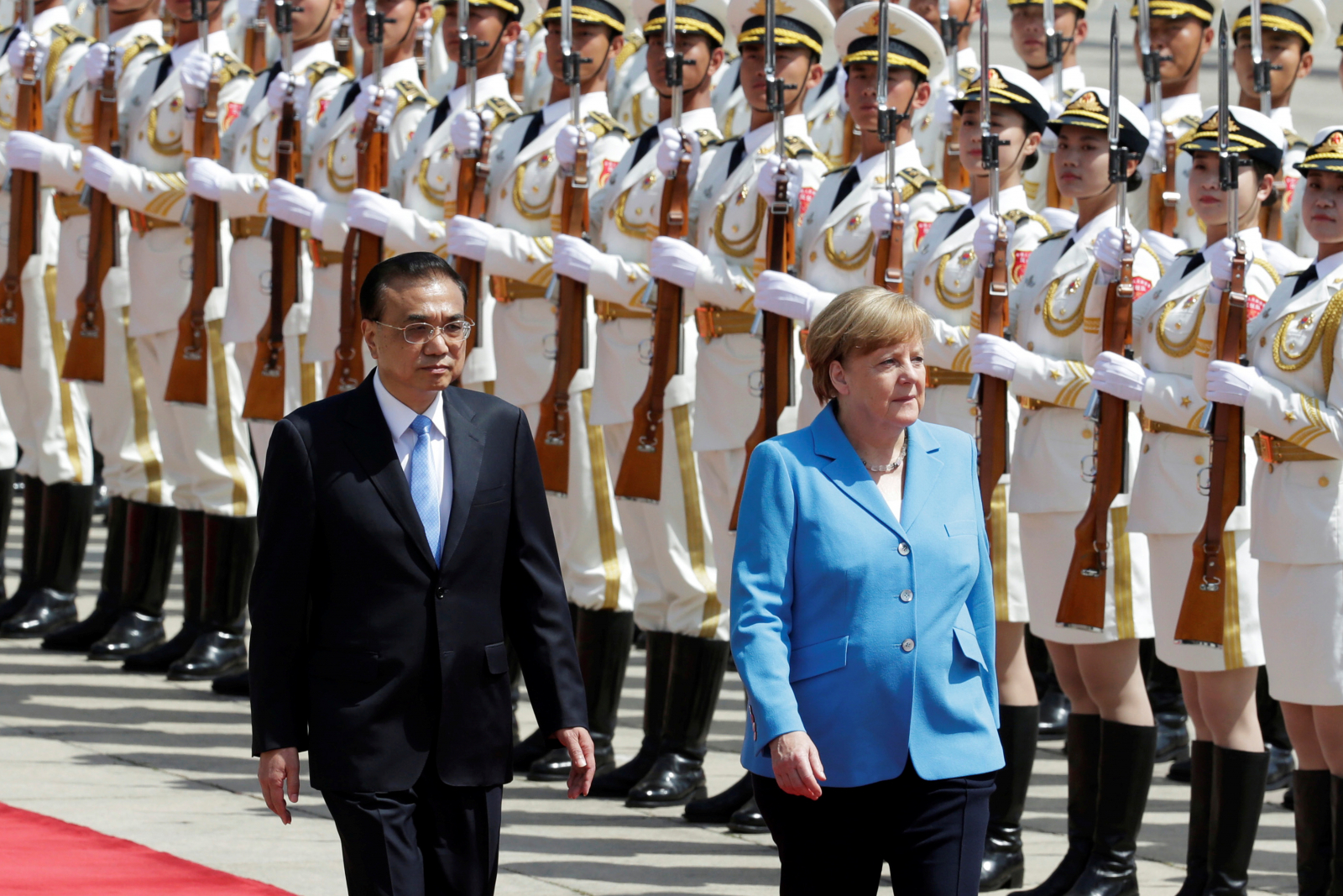 Angela Merkel in China