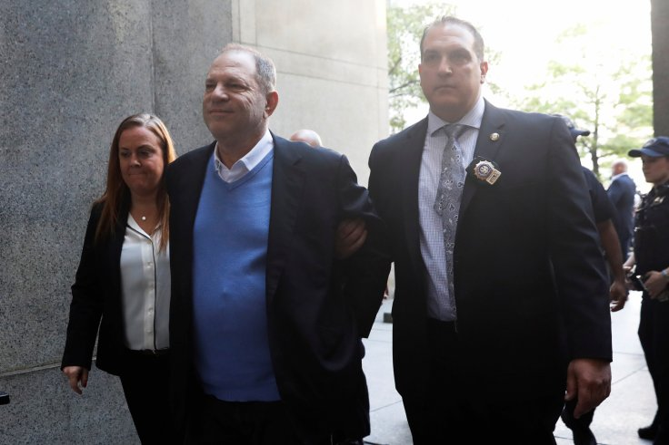 Harvey Weinstein in handcuffs