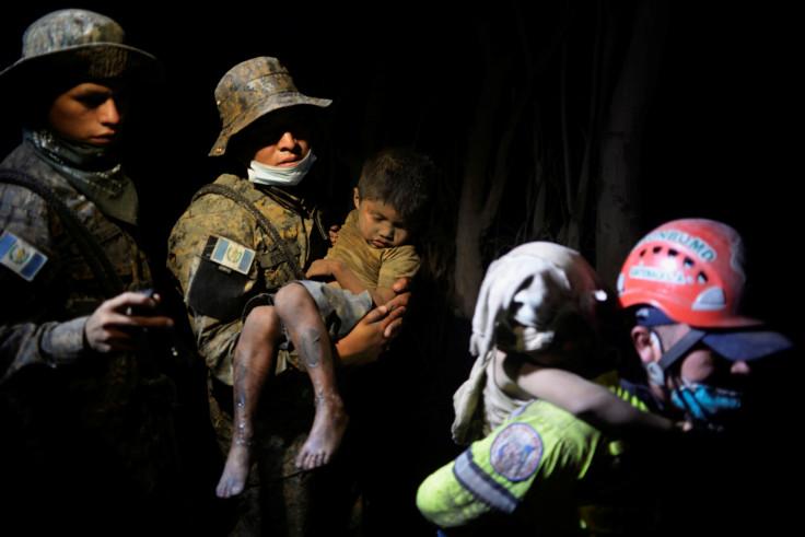 Fuego Volcano Rescue