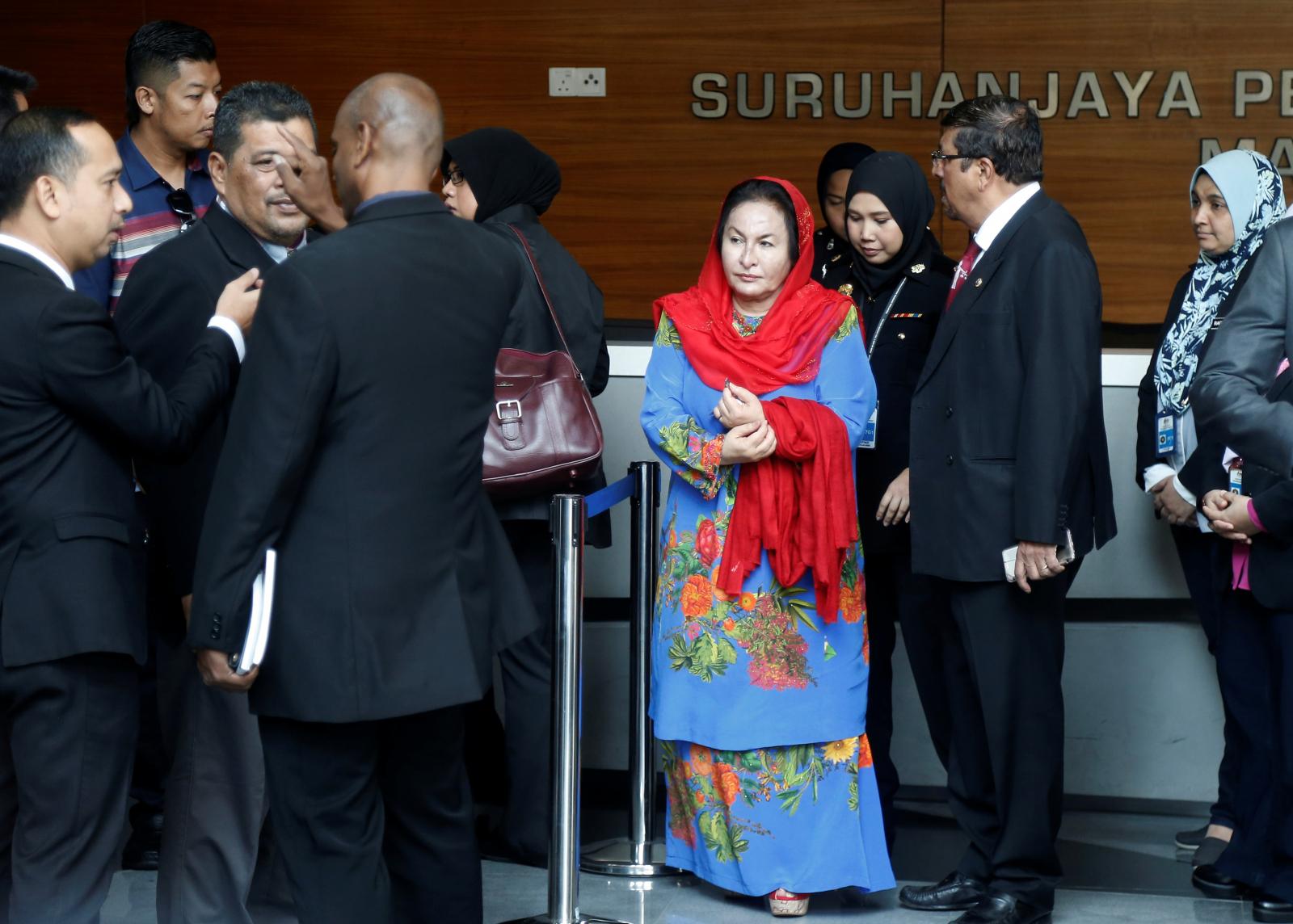 Rosmah Mansor, the wife of former Malaysian prime minister Najib Razak