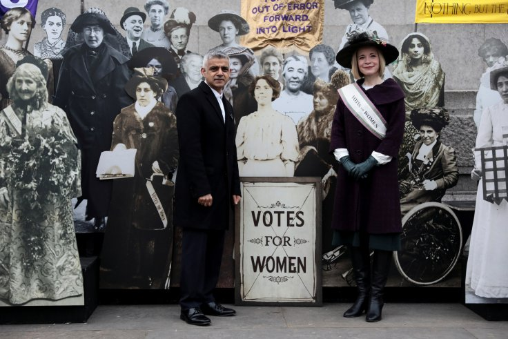 Sadiq Khan Women's Suffrage