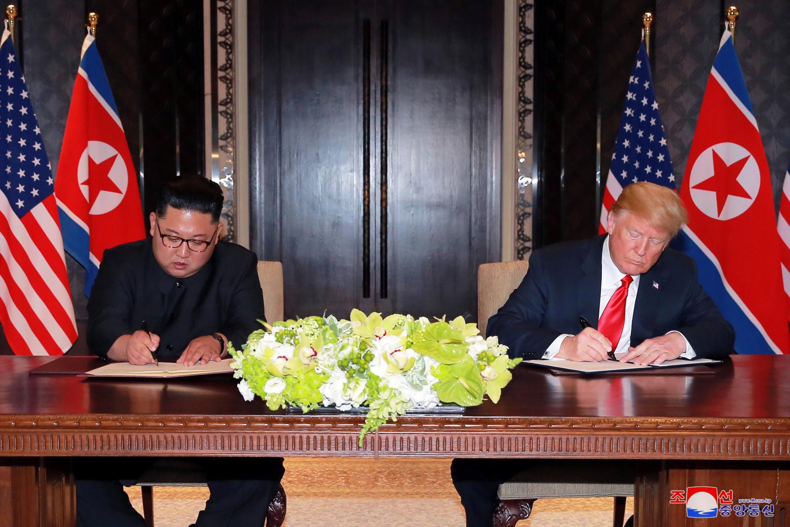 Trump Kim Agreement