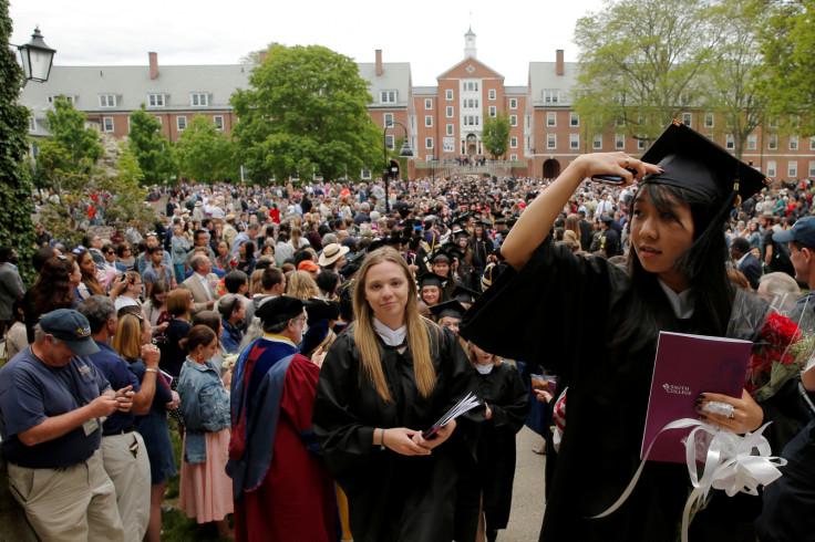 US college graduates