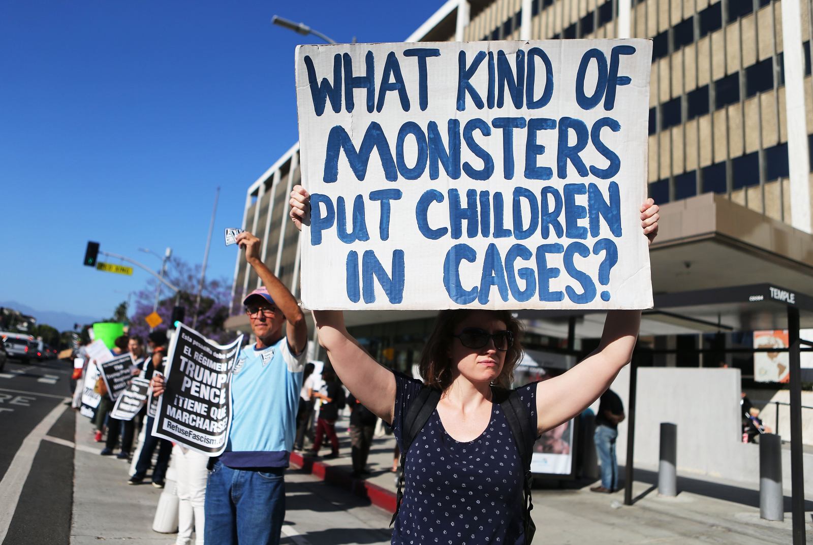 Family Separation Protest