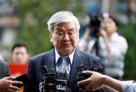 Korean Air Lines Chairman Cho Yang-ho