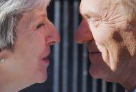 Theresa May welcomes Donald Tusk