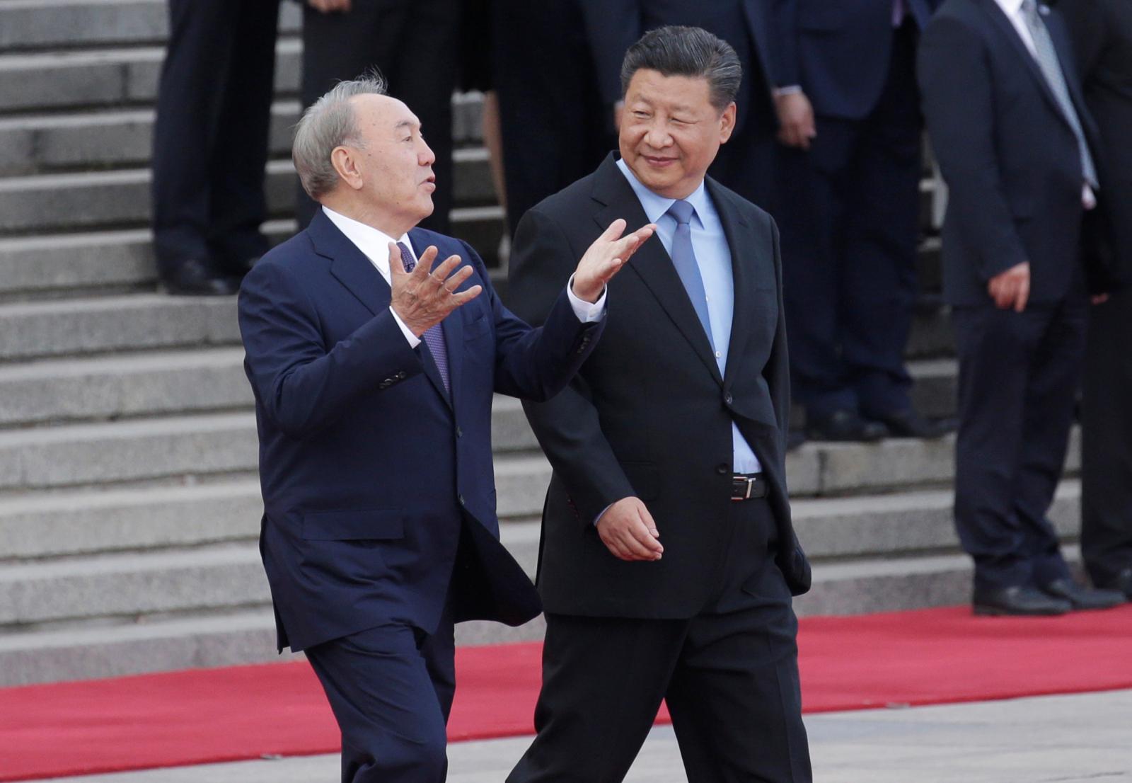 Kazakhstan's President speaks to China's President