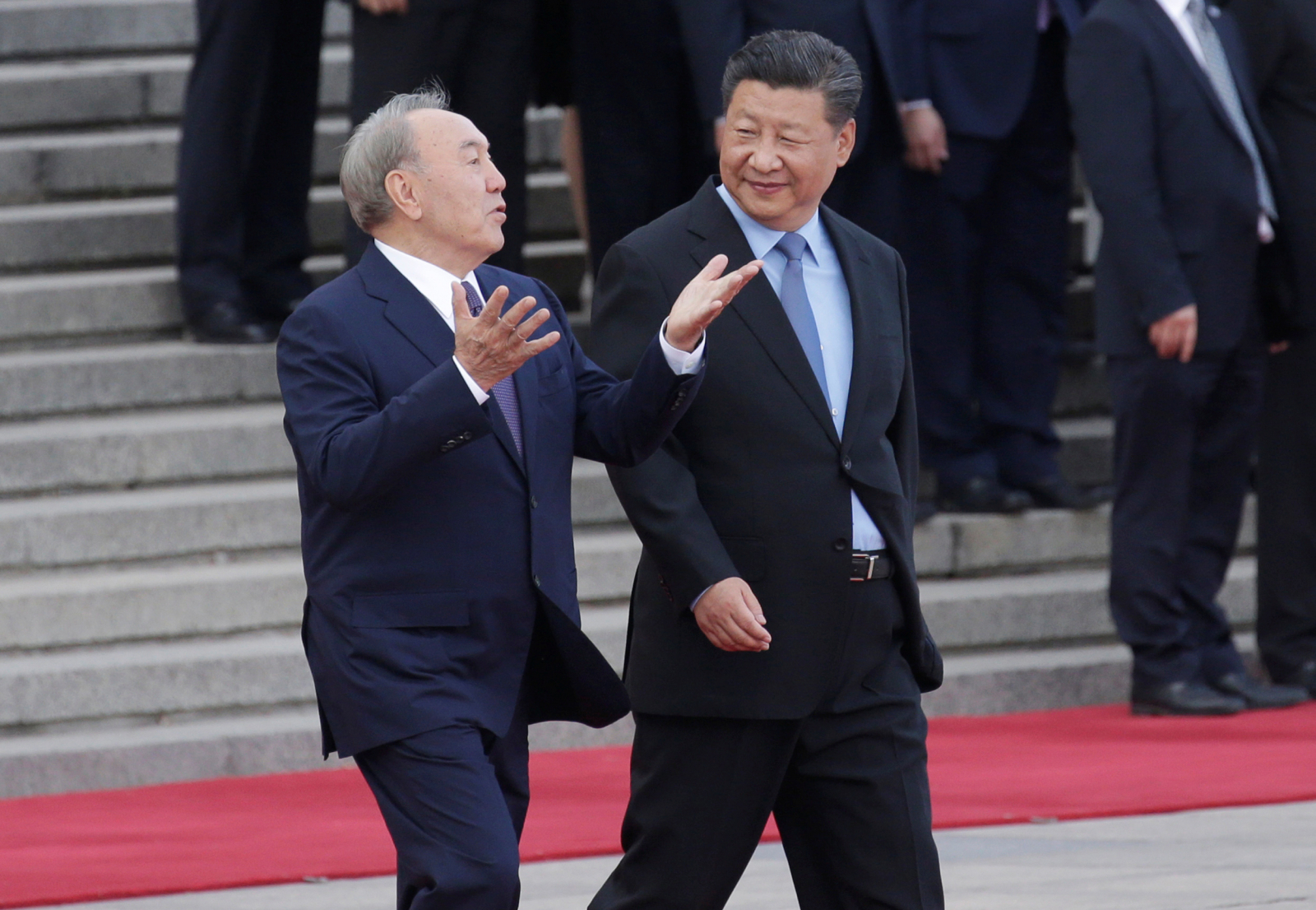 Kazakhstan's President speaks to China's President
