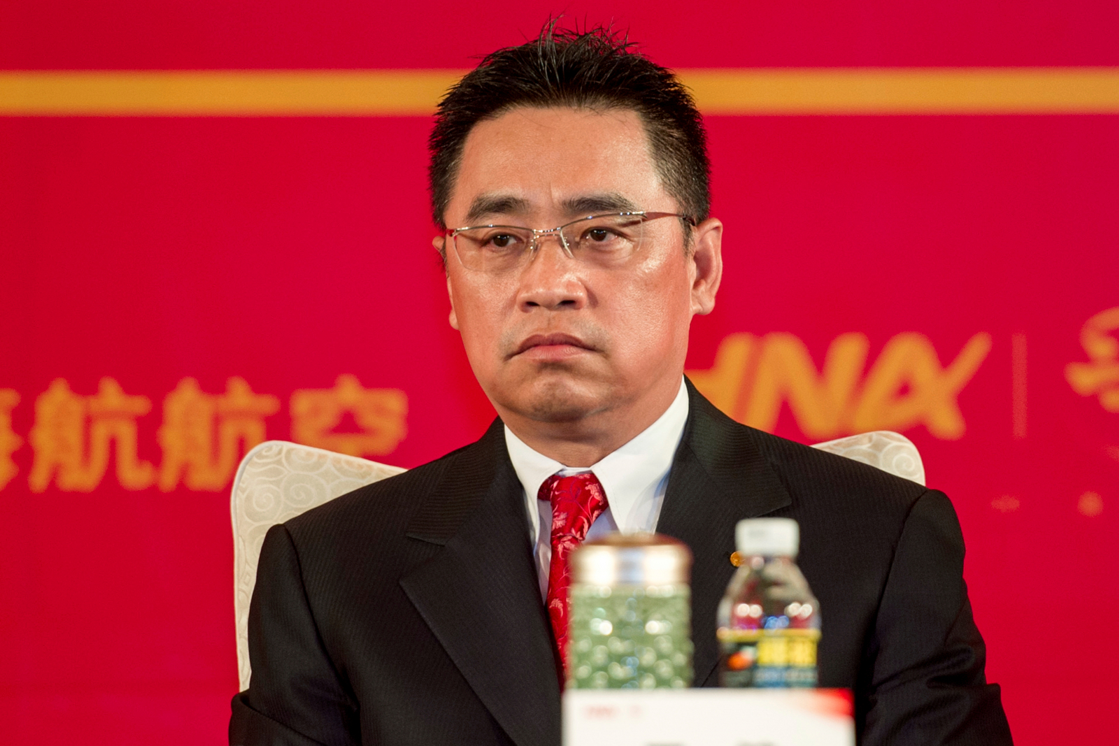 HNA group co-chairman Wang Jian