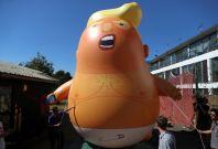 Donald Trump blimp