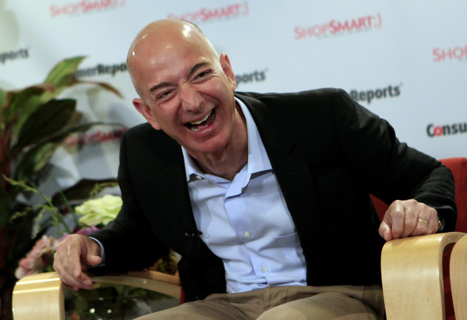 Jeffrey Bezos Amazon