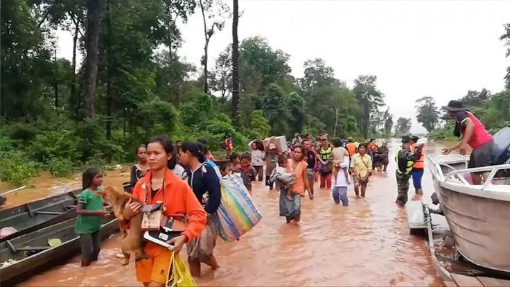Laos Dam Break
