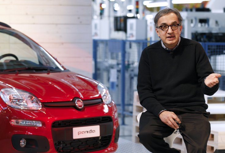 Sergio Marchionne, CEO of Fiat and Chrysler Group