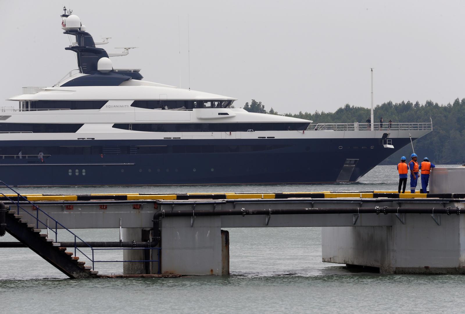 Seized luxury yacht Equanimity