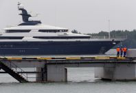 Seized luxury yacht Equanimity