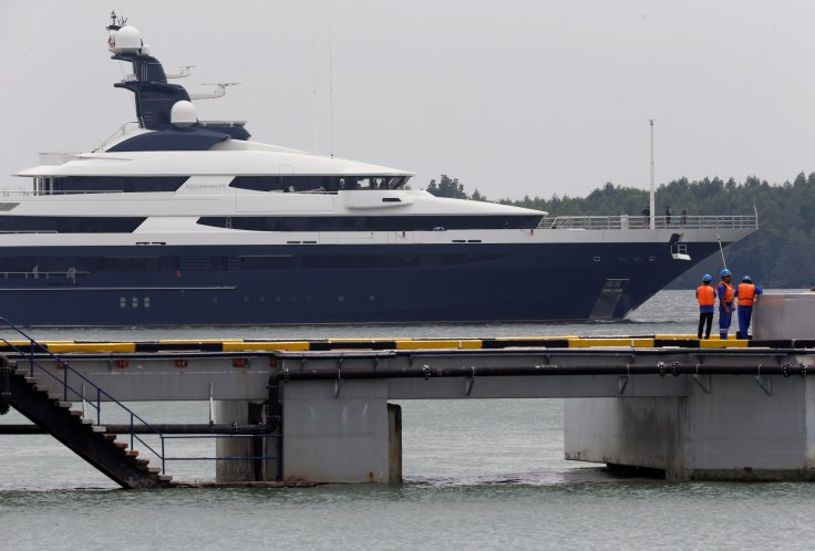 1MDB scandal: Jho Low's infamous $250m luxury yacht arrives