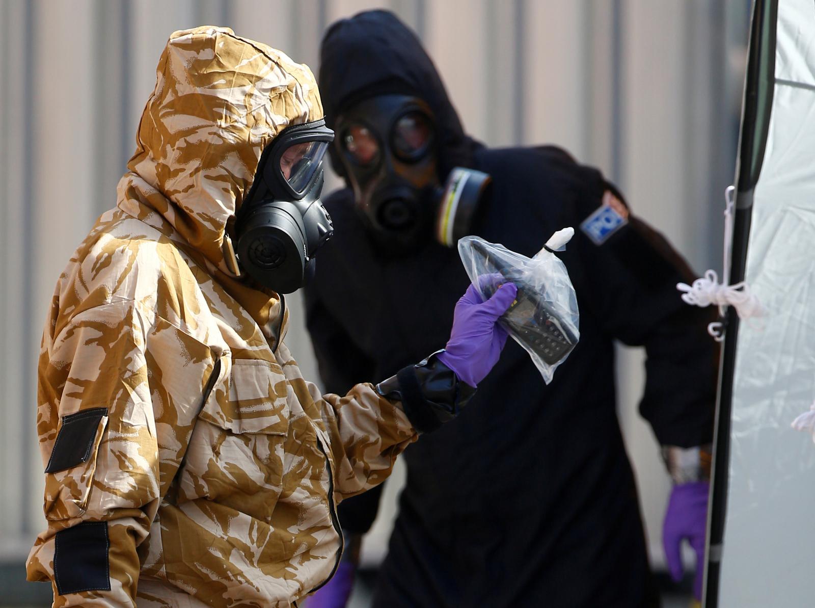 Salisbury Novichok poisoning