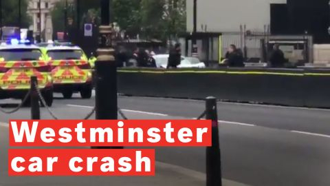 Westminster car crash
