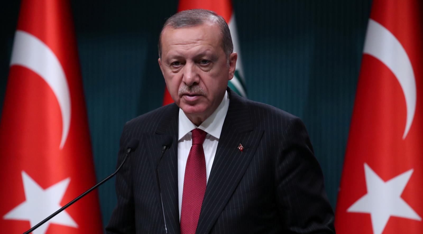 Turkish President Tayyip Erdogan