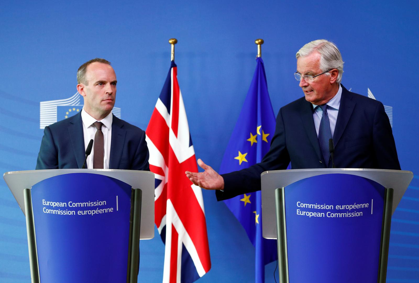 UK EU Brexit Negotiations