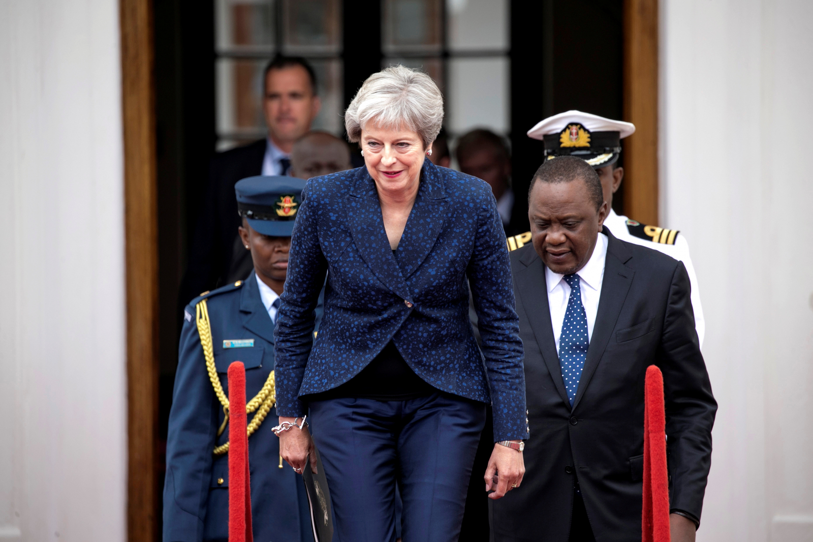 Theresa May in Africa