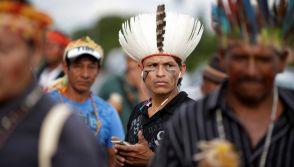Indigenous people of the Guarani-Kaiowa tribe