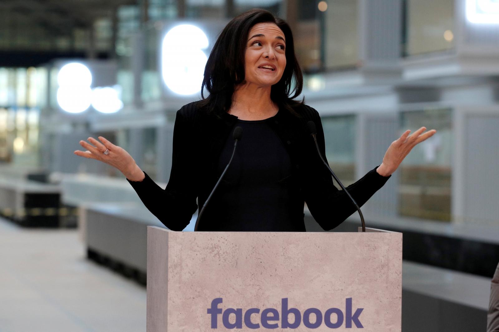 Sheryl Sandberg Chief Operating Officer of Facebook