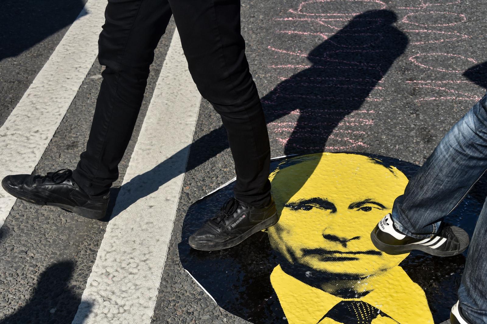 Russia pension protests
