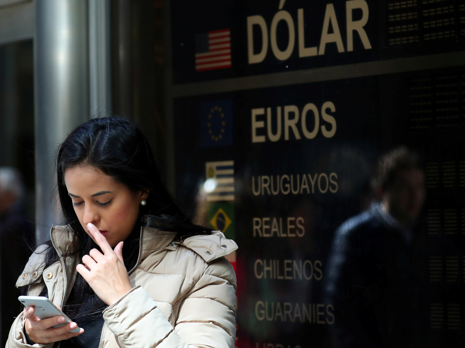 Argentina currency market