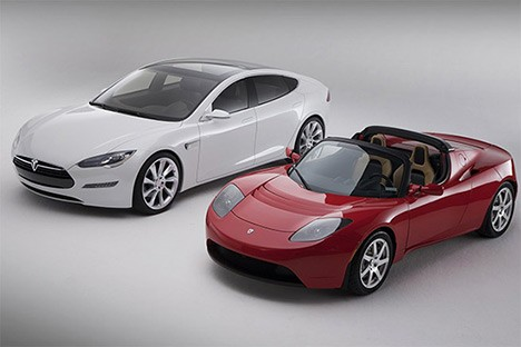 Tesla Roadster and Mode S