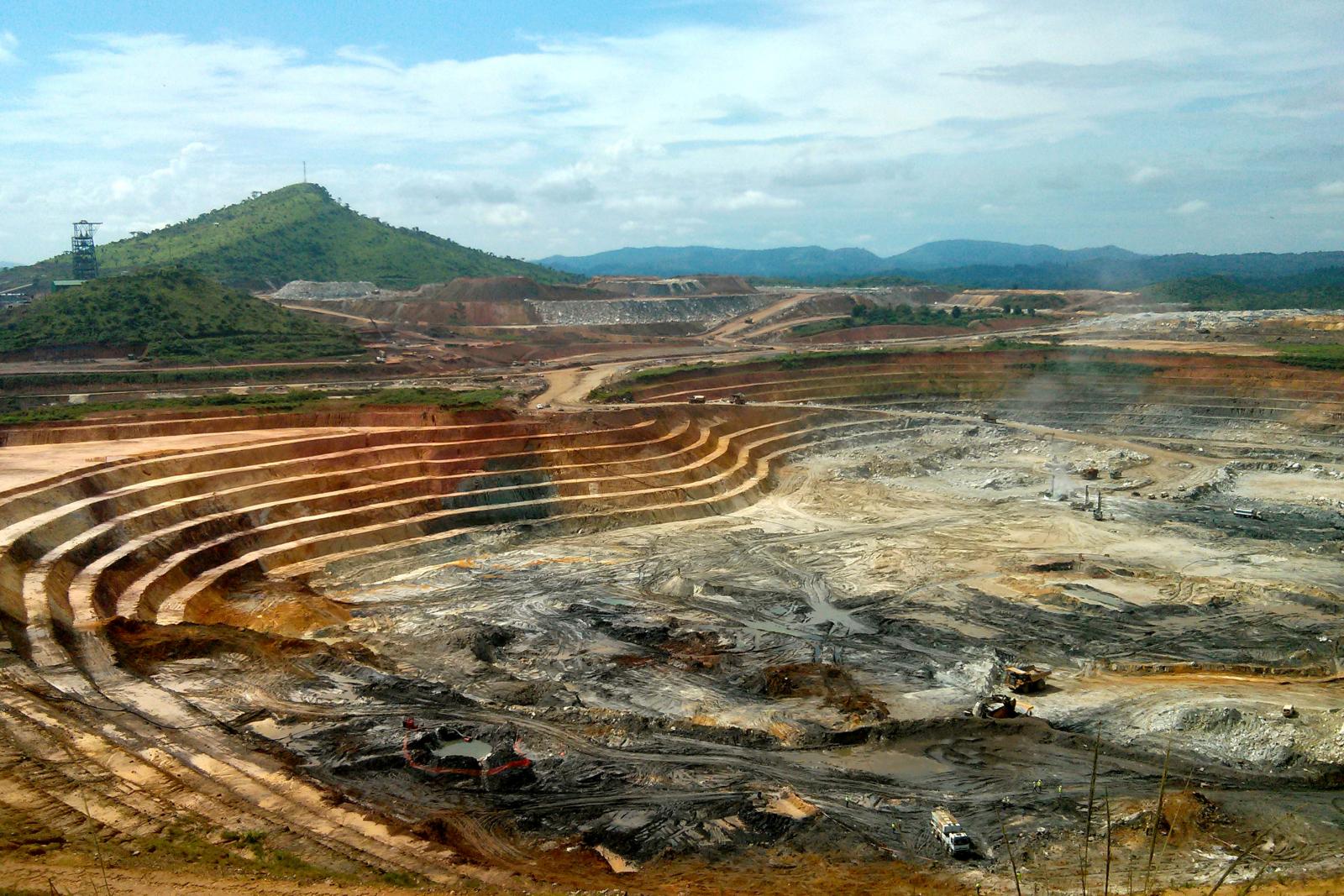 DRC gold mine
