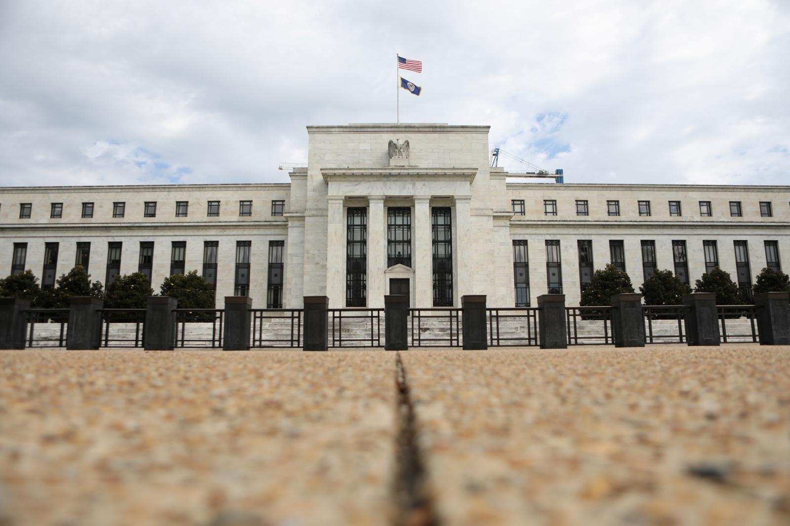 U.S Federal Reserve building