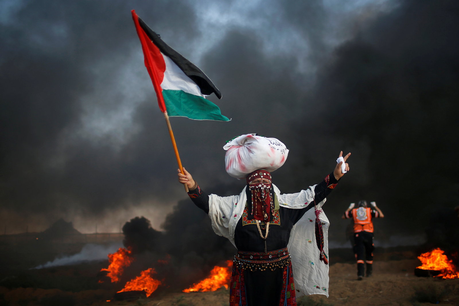 Palestinian protests Gaza Strip