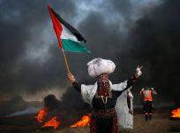 Palestinian protests Gaza Strip
