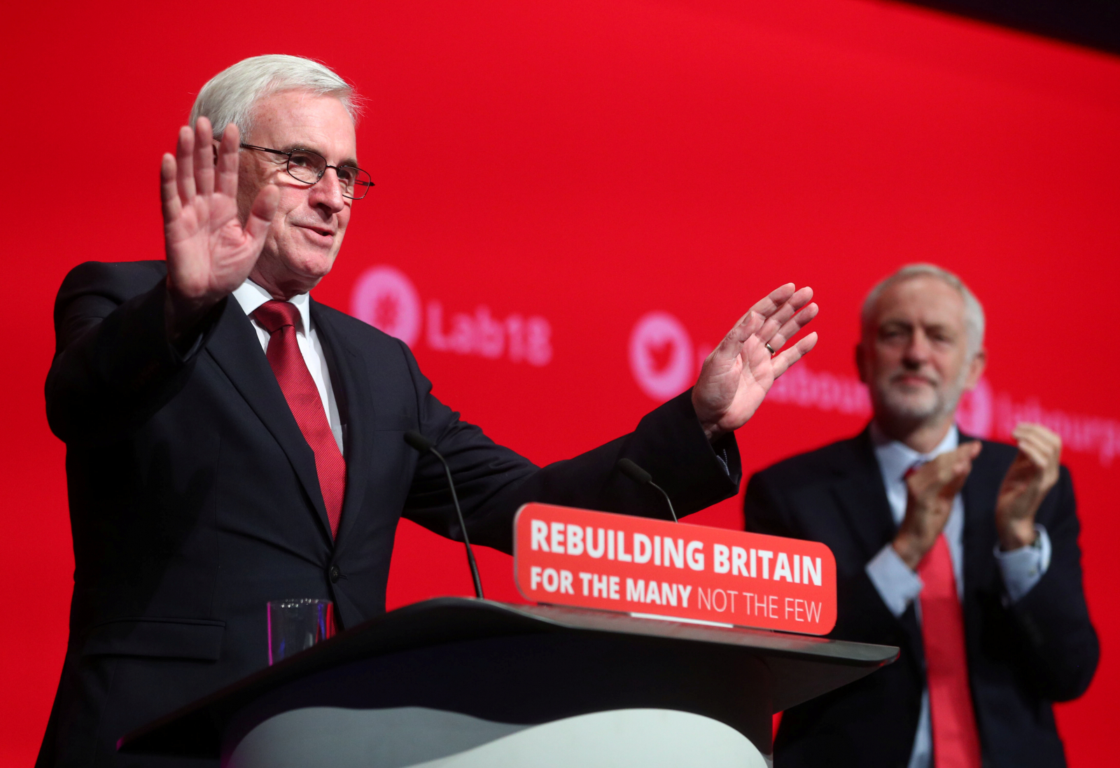 Chancellor of the Exchequer John McDonnell