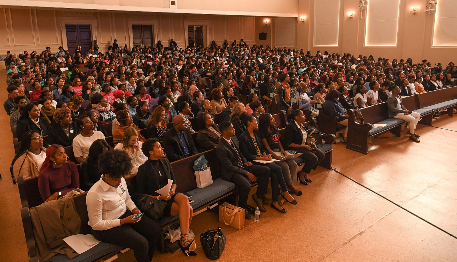 Black college students, Spelman College, Georgia