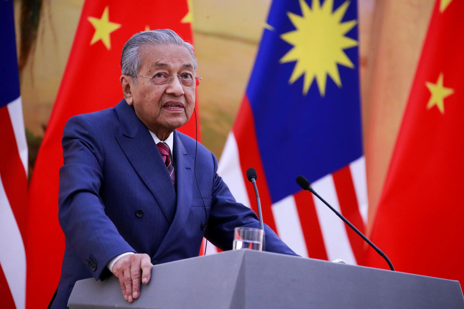 Prime Minister Mahathir Mohamad