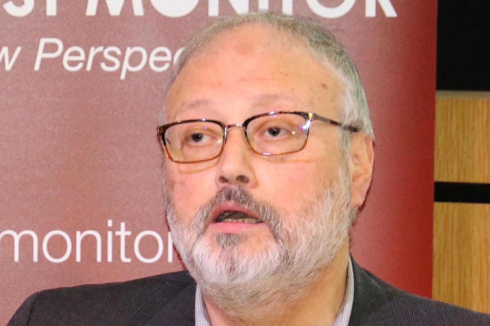 Saudi dissident Jamal Khashoggi
