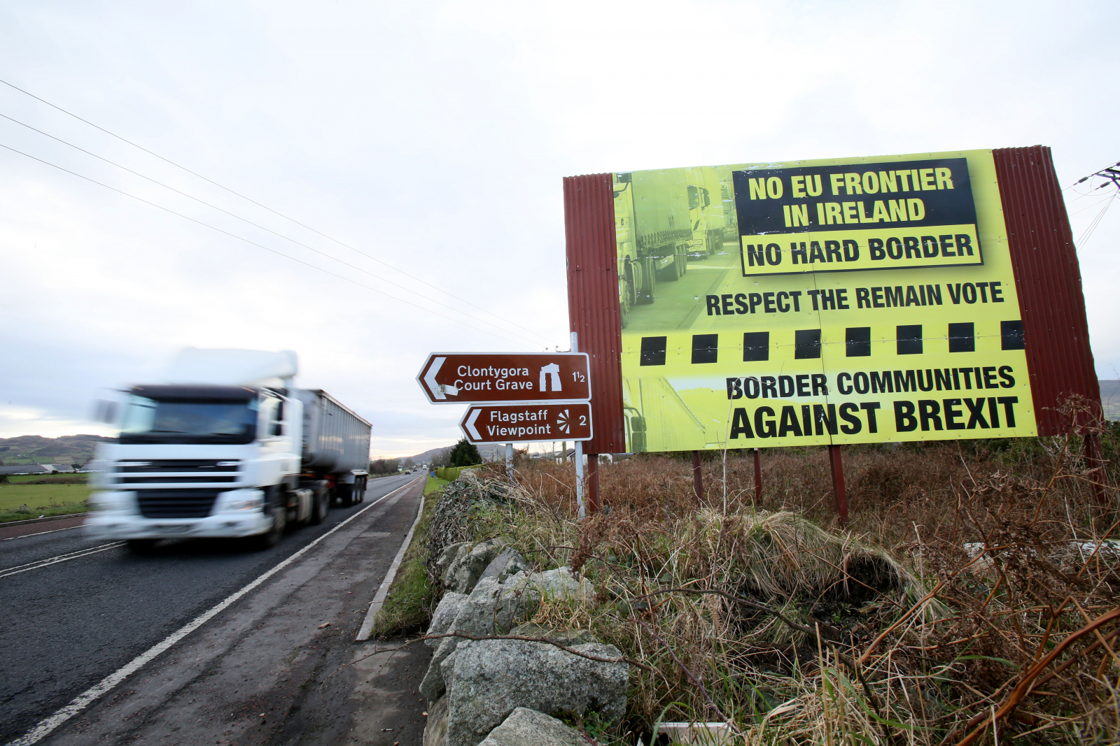 Northern Ireland border European Union Brexit