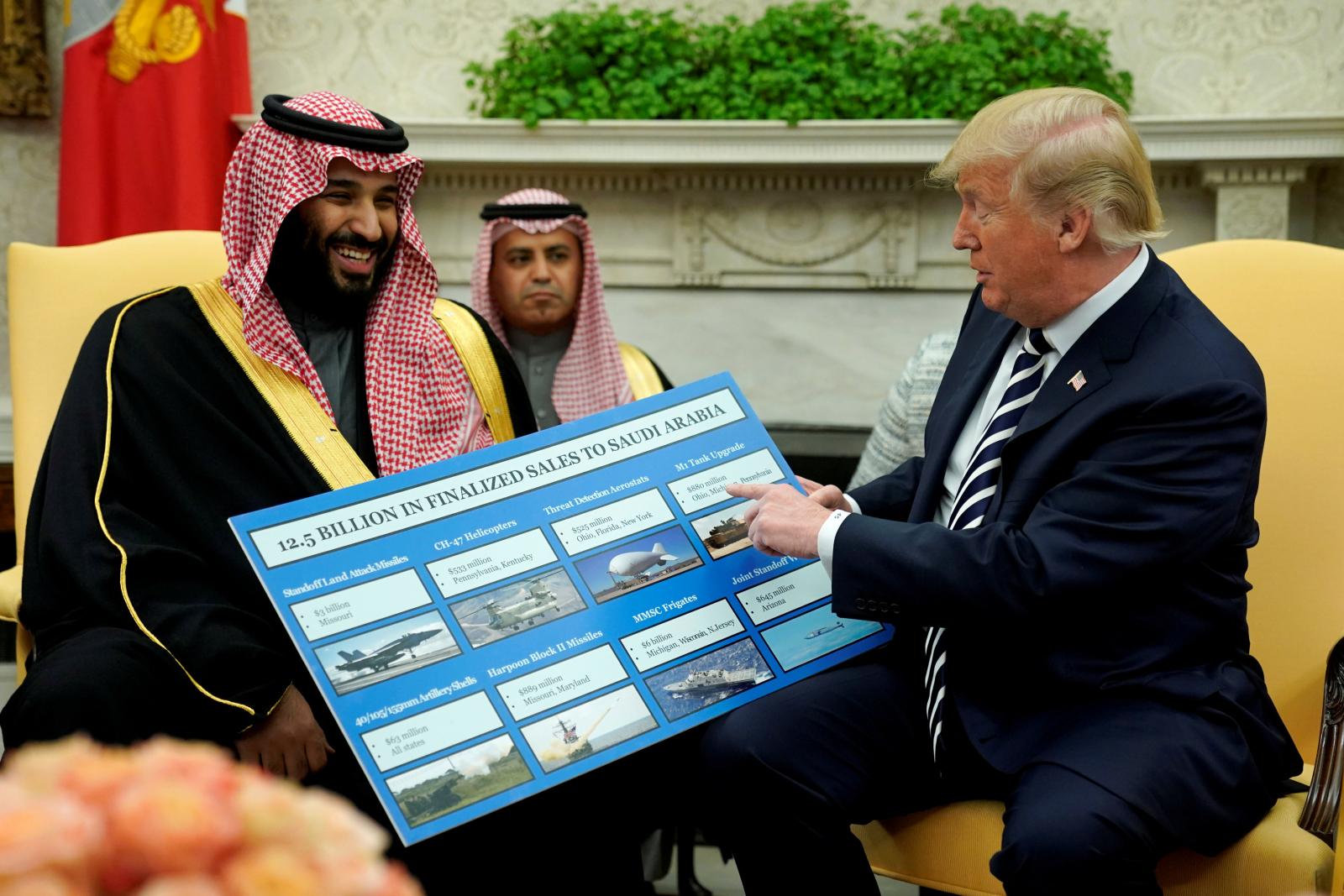 Donald Trump Saudi Prince Mohammed bin Salman