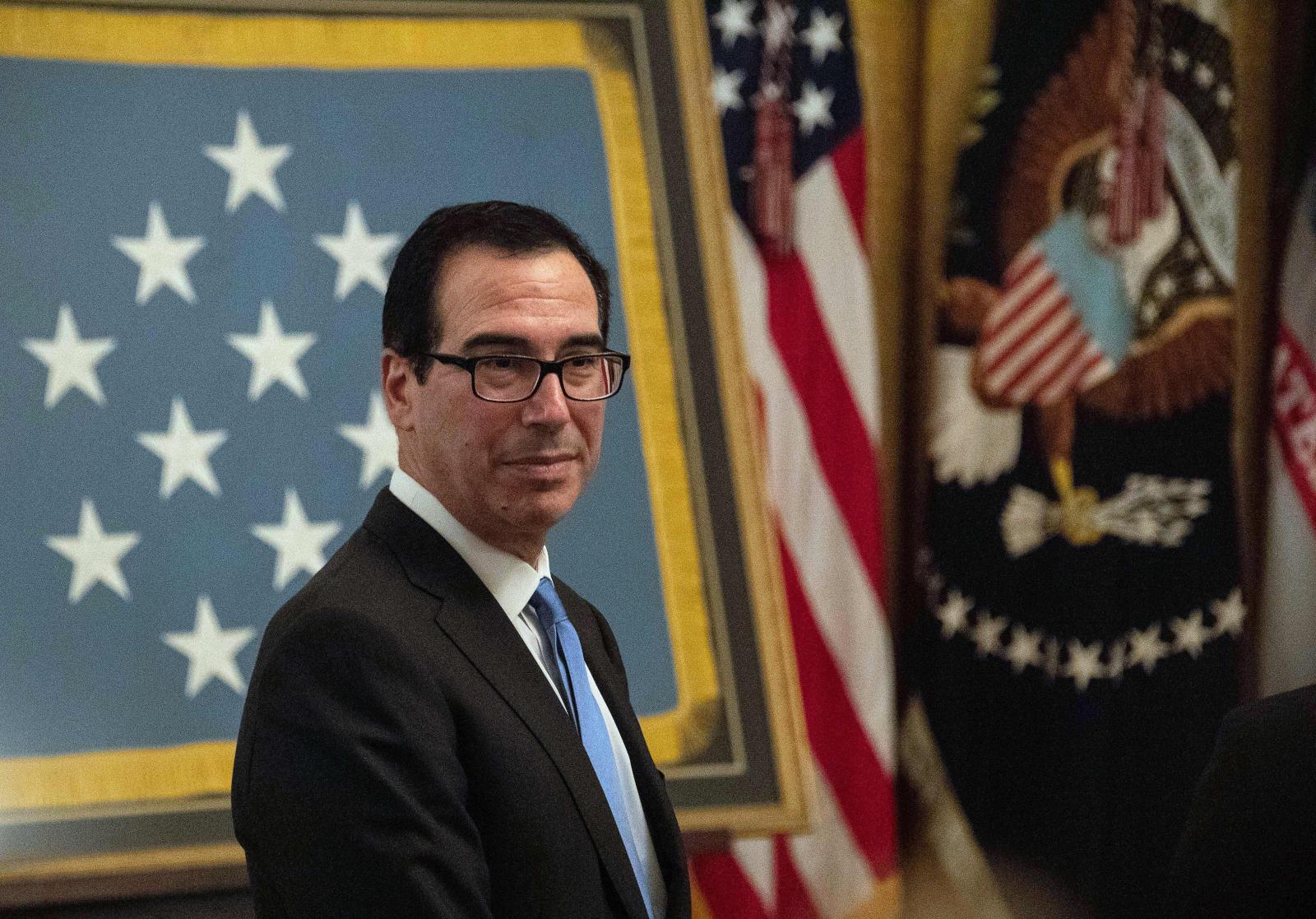 US Treasury Secretary Steve Mnuchin