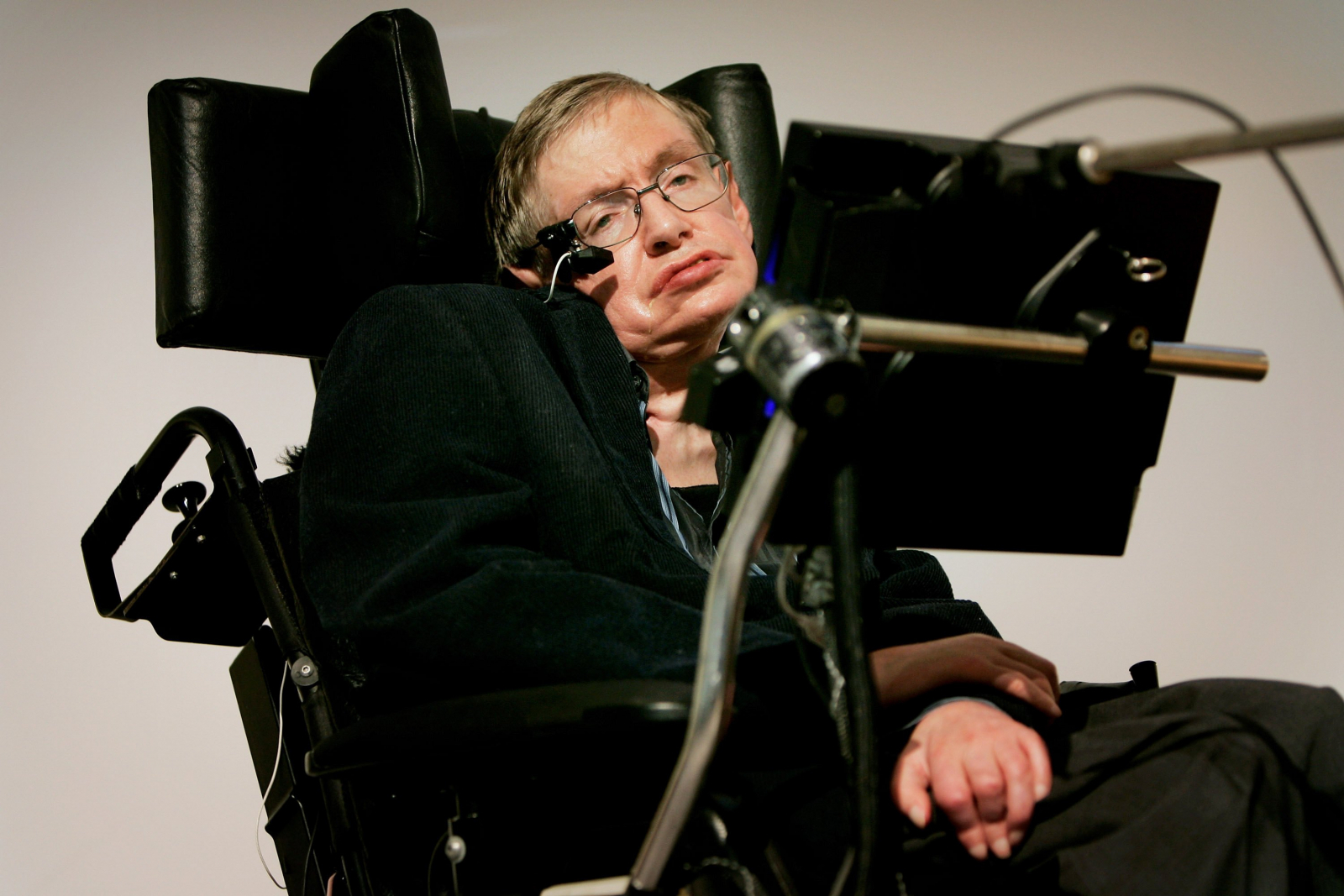 Stephen Hawking wheelchair