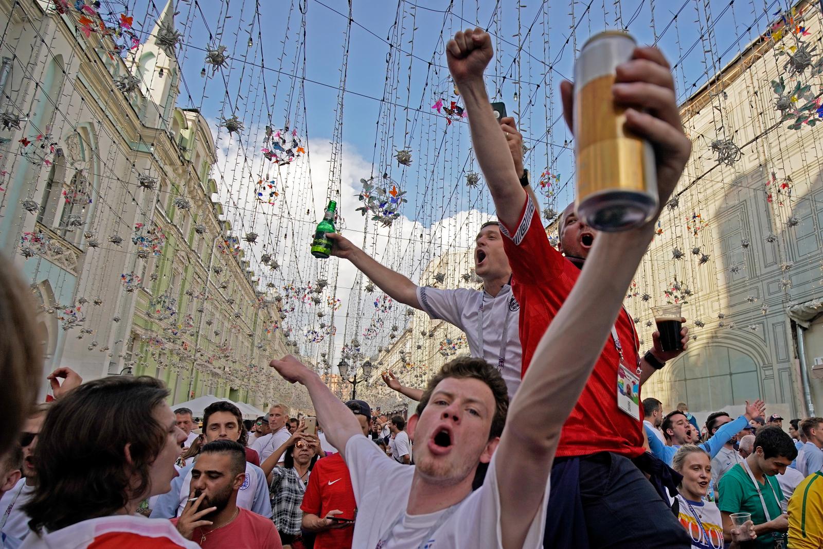 UK economy gets World Cup lift