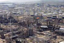 Oil refinery in Texas City, Texas
