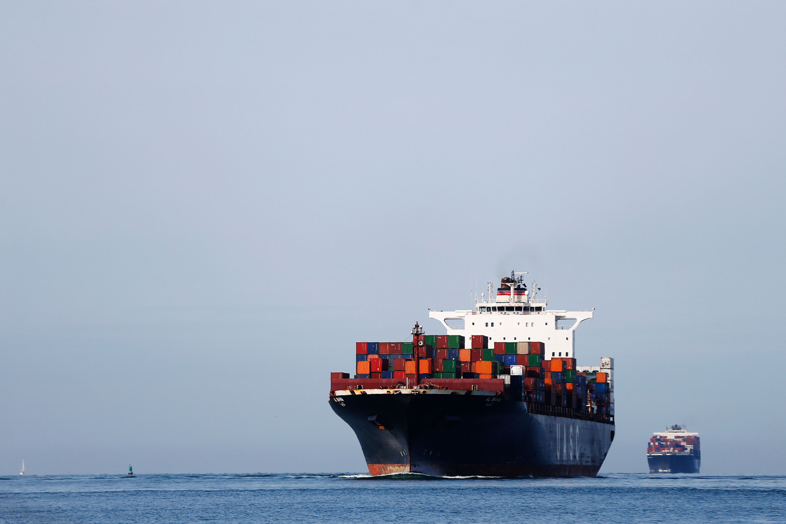 Container ship France