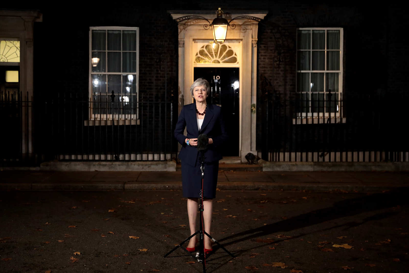 Prime Minister Theresa May 10 Downing Street