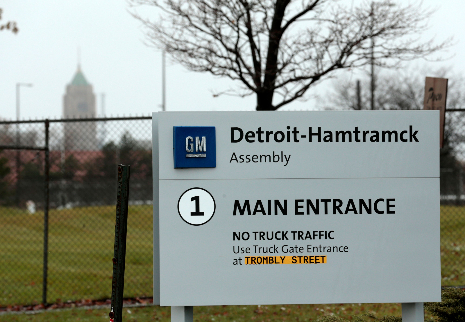 GM Plants Closure